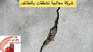 Read more about the article شركة معالجة تشققات بالطائف